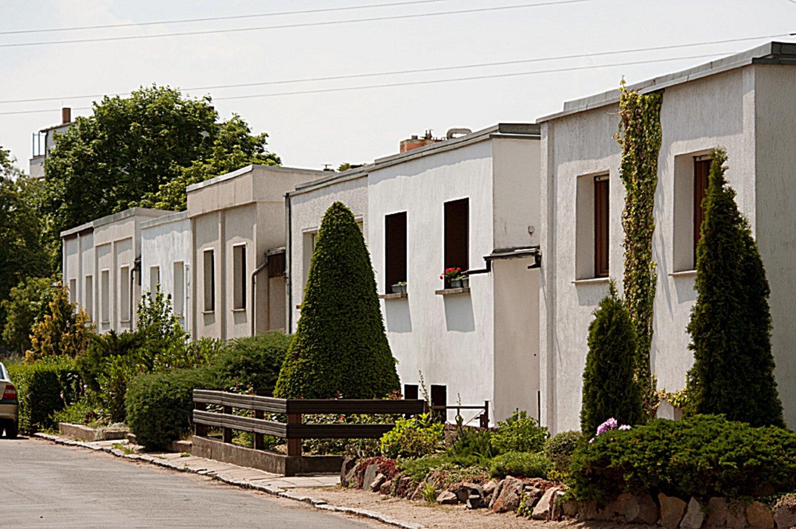 dessau t rten housing estate by walter gropius 1926 28 bauhaus buildings in dessau. Black Bedroom Furniture Sets. Home Design Ideas