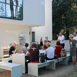 messestammtisch die avantgarde grillt postfossil haushalten stiftung bauhaus dessau. Black Bedroom Furniture Sets. Home Design Ideas