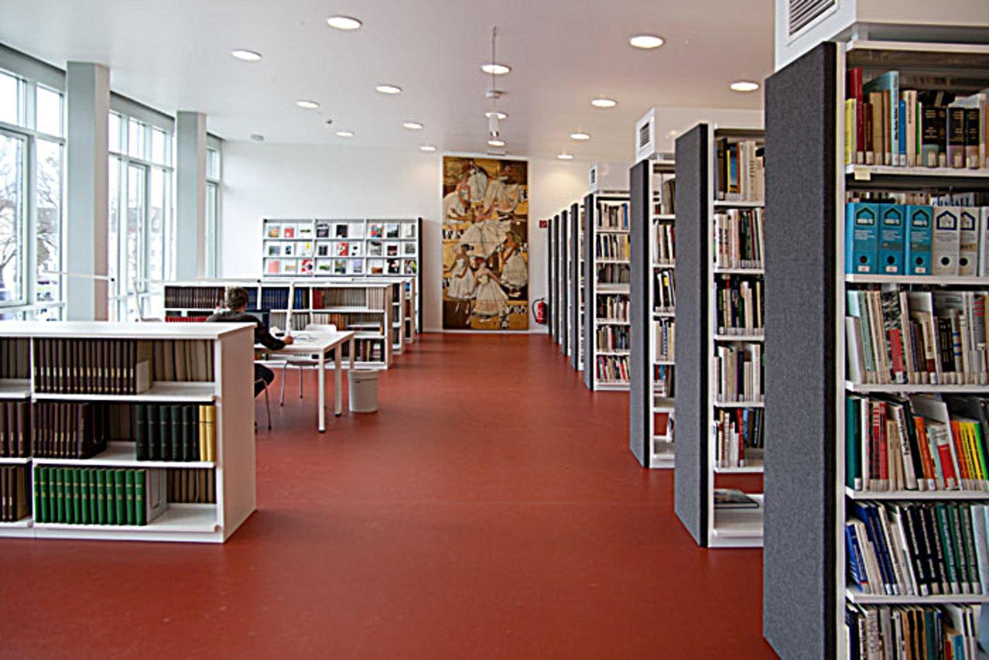 bibliothek stiftung bauhaus dessau bauhaus dessau foundation. Black Bedroom Furniture Sets. Home Design Ideas