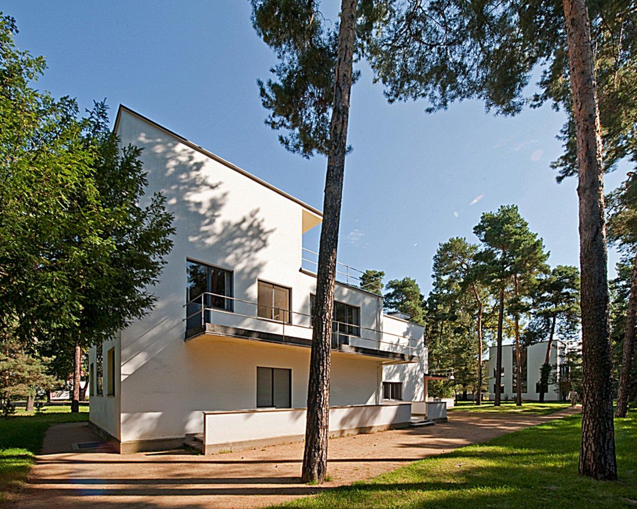 Masters Houses By Walter Gropius 1925 26 Bauhaus