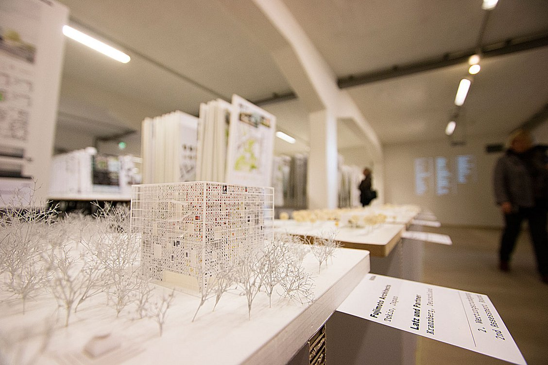 Review exhibition on the architectural design competition for Architectural design review