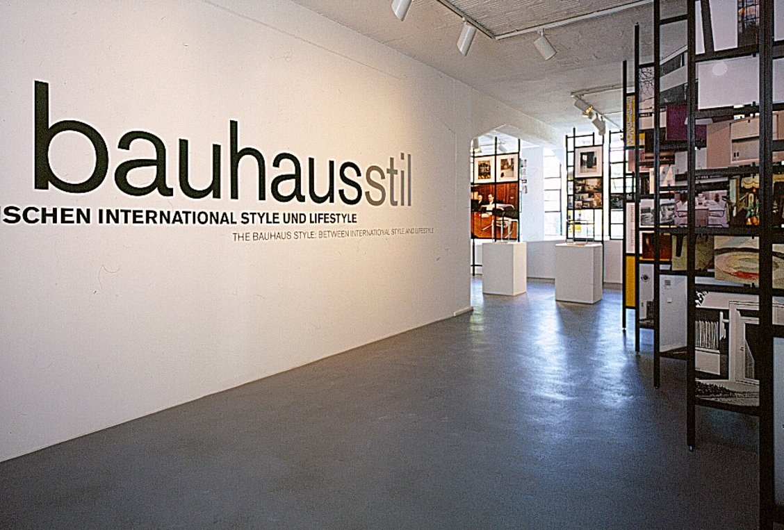 Bauhaus Style Definition the bauhaus style between international style and lifestyle