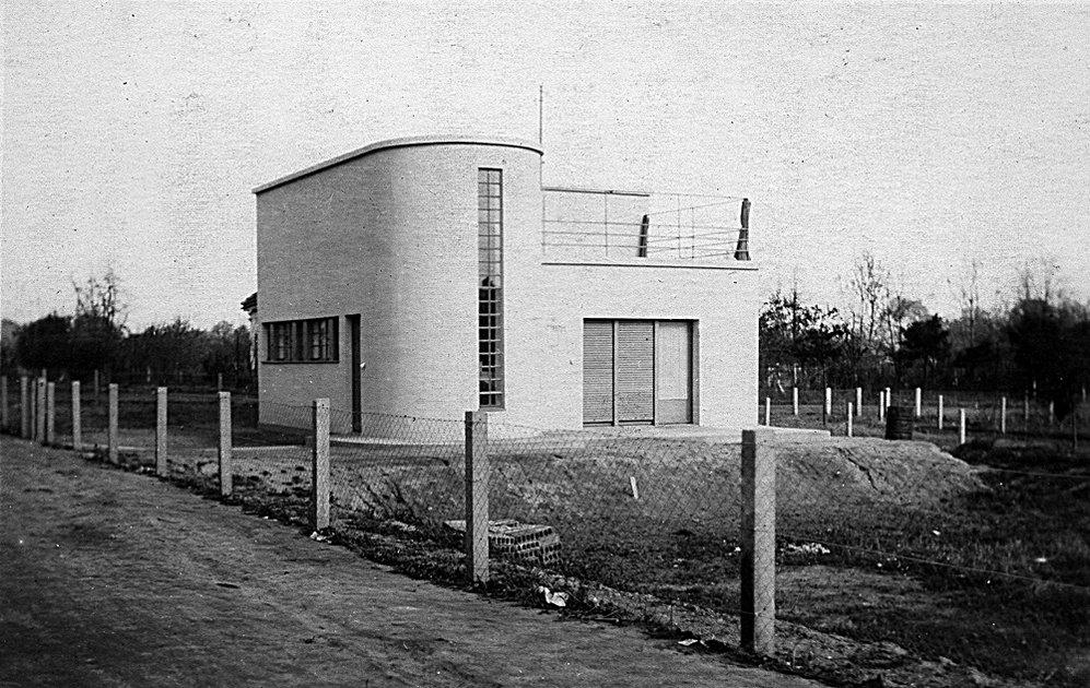 Haus fieger von carl fieger 1927 bauhausbauten stiftung bauhaus dessau bauhaus dessau - Bauhaus architektur hauser ...