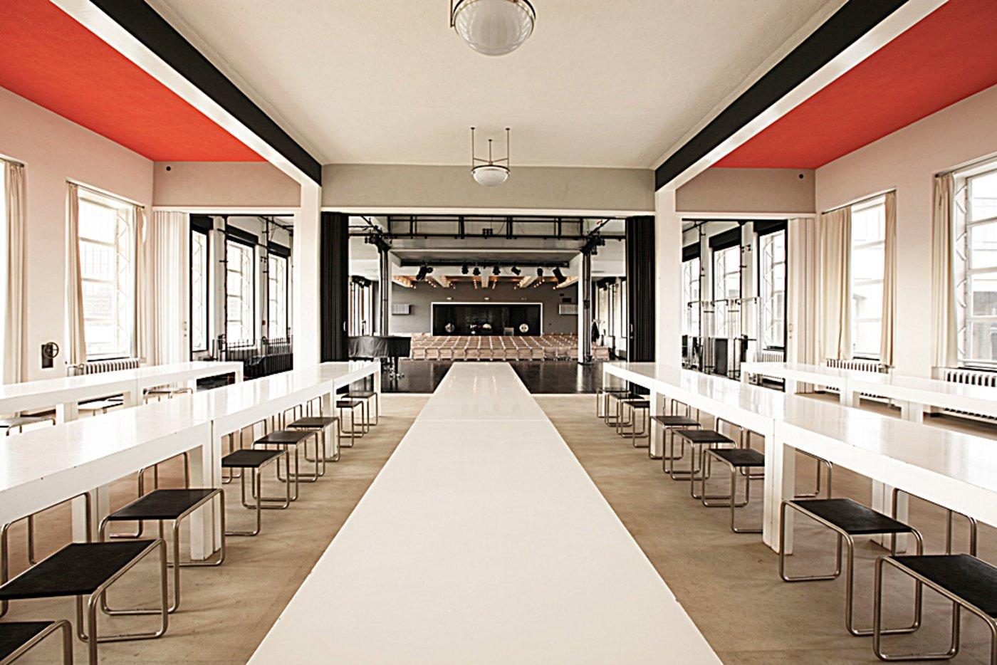 gastronomie stiftung bauhaus dessau bauhaus dessau foundation. Black Bedroom Furniture Sets. Home Design Ideas