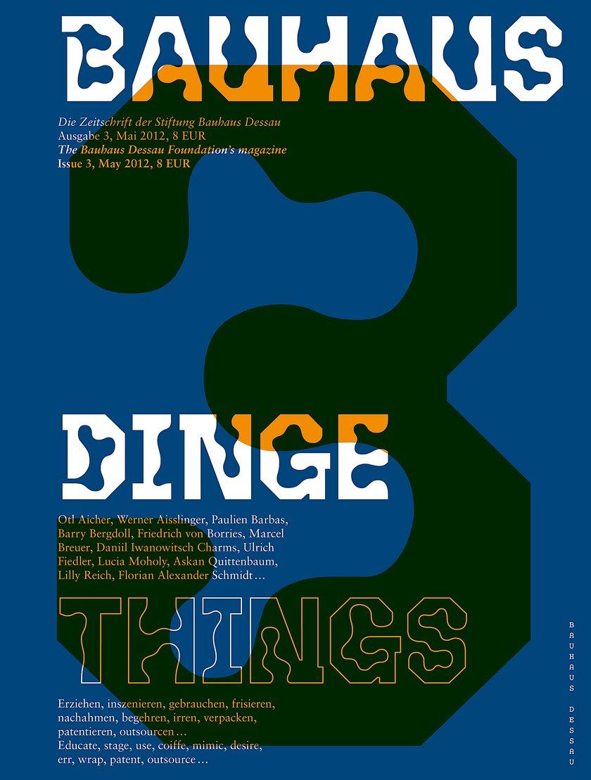 Zeitschrift bauhaus 3 - Dinge : Zeitschrift bauhaus 3 : Stiftung ...
