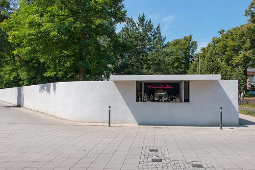 Kiosk mies van der rohe catering and accommodation stiftung bauhaus dess - Fondation mies van der rohe ...