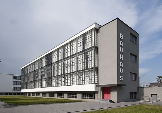 The legendary Bauhaus of Walter Gropius 1926