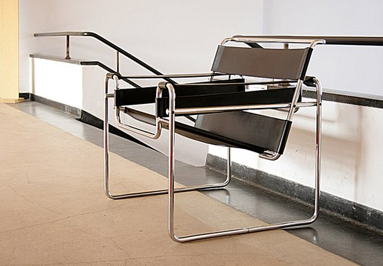 "Chair B3 of Marcel Breuer, so called ""Wassily Chair"""