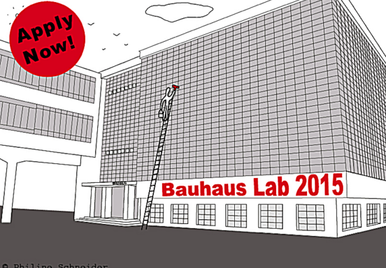 Apply Now! The closing date for applications for interdisciplinary research programme at Bauhaus Dessau is March 31st, 2015