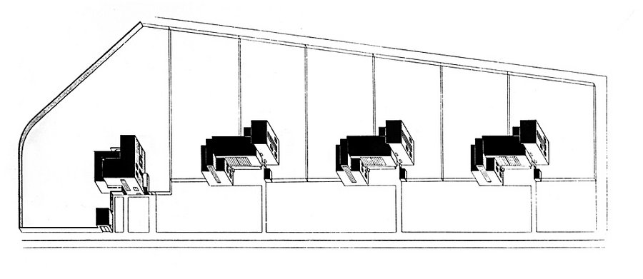 meisterh user von walter gropius 1925 26 bauhausbauten in dessau stiftung bauhaus dessau. Black Bedroom Furniture Sets. Home Design Ideas